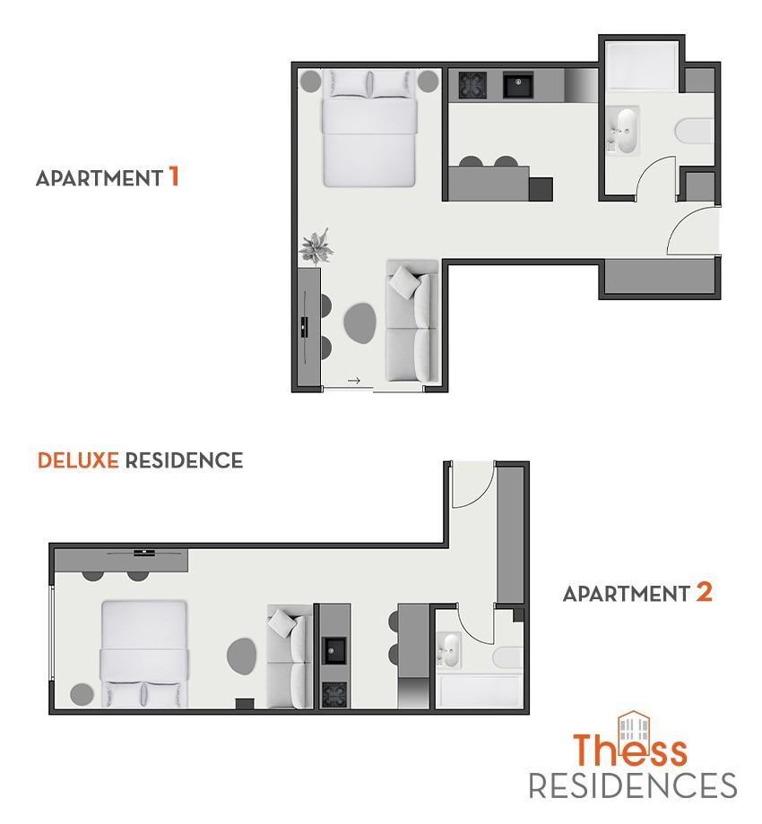 Deluxe Residence Floorplan